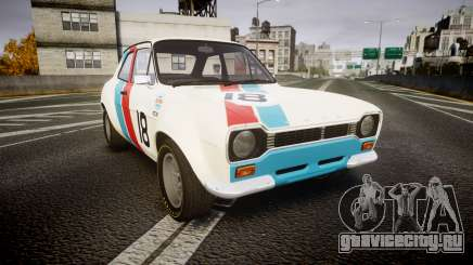 Ford Escort RS1600 PJ18 для GTA 4