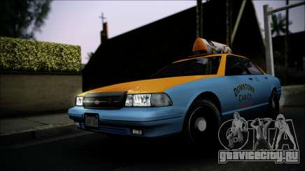 Taxi Vapid Stanier II from GTA 4 IVF для GTA San Andreas