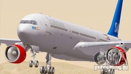 Airbus A330-300 Scandinavian Airlines для GTA San Andreas