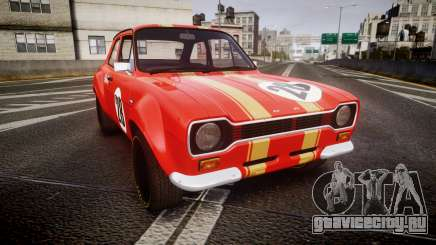 Ford Escort RS1600 PJ28 для GTA 4