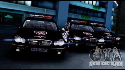 Mercedes-Benz C32 AMG Police для GTA San Andreas