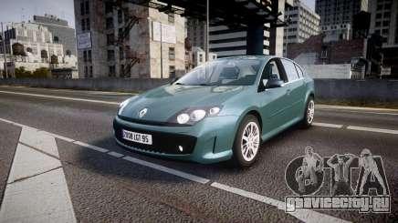 Renault Laguna III GT 2008 для GTA 4
