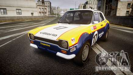 Ford Escort RS1600 PJ17 для GTA 4