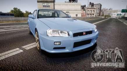 Nissan Skyline R34 GT-R V.specII 2002 для GTA 4