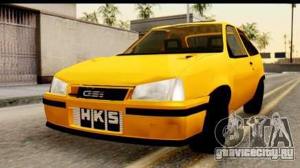 Opel Kadett GSI Drag 2015 для GTA San Andreas
