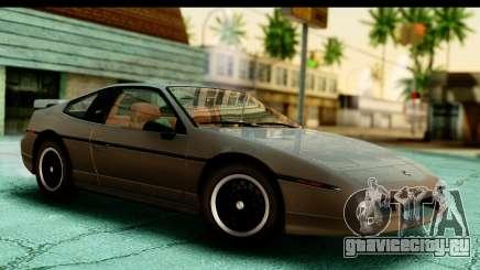 Pontiac Fiero GT G97 1985 HQLM для GTA San Andreas
