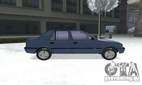 Dacia Super Nova для GTA San Andreas вид сзади слева