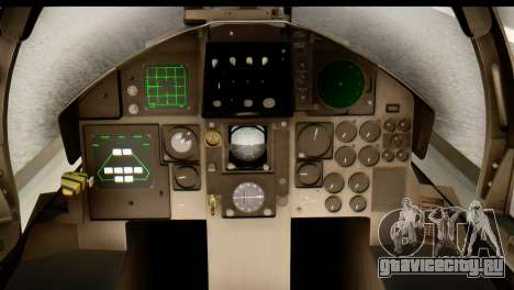 F-15DJ Mitsubishi Heavy Industries для GTA San Andreas вид сзади
