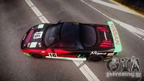 Honda NSX 1998 [EPM] castrol для GTA 4