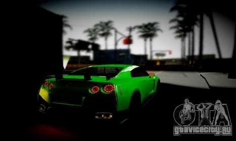 Blacks Med ENB для GTA San Andreas пятый скриншот