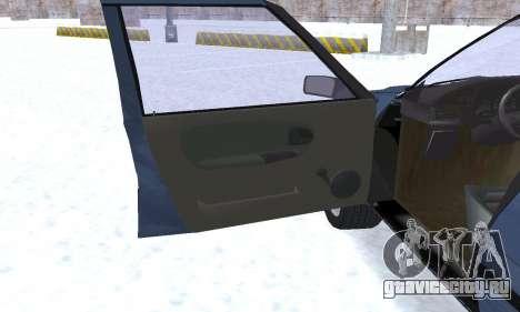 Dacia Super Nova для GTA San Andreas двигатель