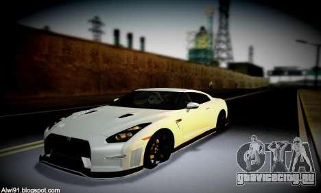 Blacks Med ENB для GTA San Andreas девятый скриншот