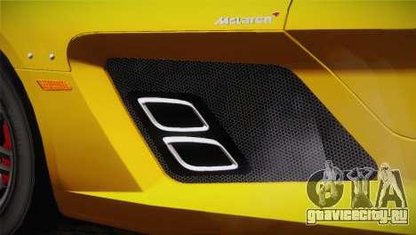Mercedes-Benz SLR McLaren Stirling Moss для GTA San Andreas вид справа