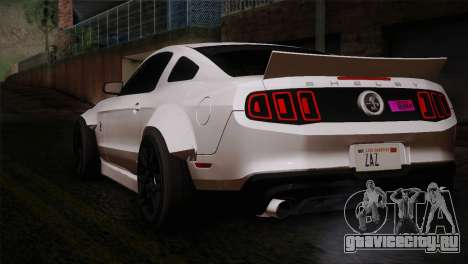 Ford Shelby GT500 RocketBunny SVT Wheels для GTA San Andreas