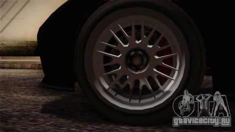 GTA 5 Invetero Coquette v2 IVF для GTA San Andreas вид сзади слева