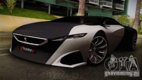 Peugeot Onyx для GTA San Andreas