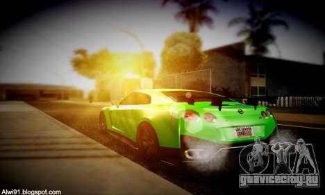 Blacks Med ENB для GTA San Andreas шестой скриншот