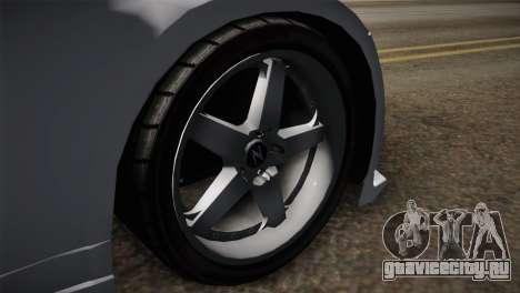 Nissan 350Z Nismo для GTA San Andreas вид сзади слева