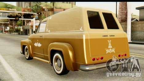 EFLC TLaD Vapid Slamvan для GTA San Andreas вид слева