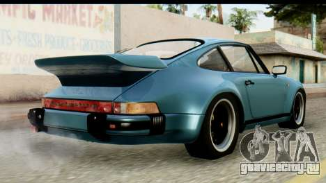 Porsche 911 Turbo 3.3L 1981 Tunable для GTA San Andreas вид слева
