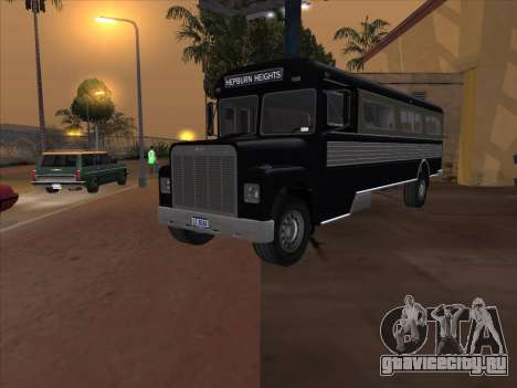 Bus из GTA 3 для GTA San Andreas вид справа
