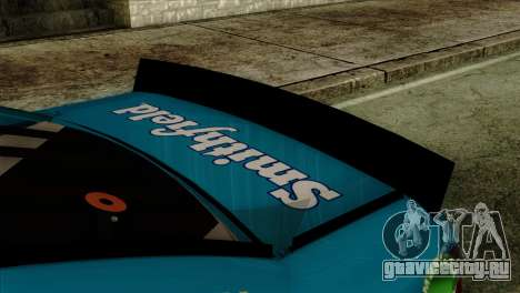 NASCAR Ford Fusion 2013 для GTA San Andreas вид справа
