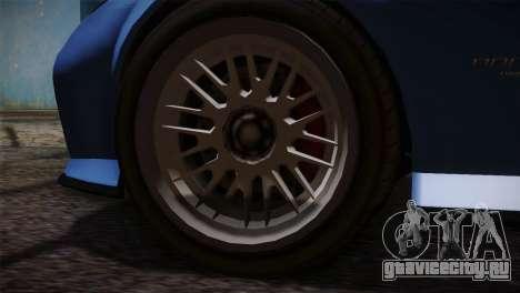 GTA 5 Invetero Coquette v2 для GTA San Andreas вид сзади слева