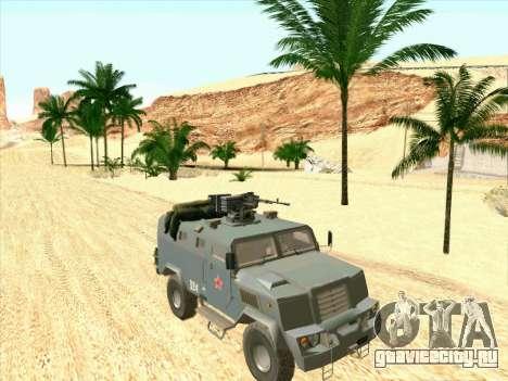 Бронетранспортёр Медведь для GTA San Andreas вид слева