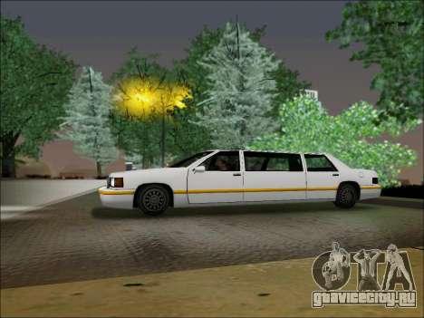 Elegant Limousine для GTA San Andreas вид слева