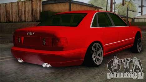 Audi A8 2000 для GTA San Andreas вид слева