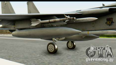 F-15J Mitsubishi Heavy Industries для GTA San Andreas вид справа