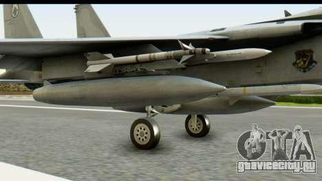 F-15J Mitsubishi Heavy Industries для GTA San Andreas вид справа