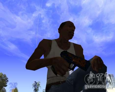 Skins Weapon pack CS:GO для GTA San Andreas седьмой скриншот