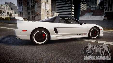 Honda NSX 1998 [EPM] nsx-r для GTA 4 вид слева