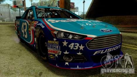 NASCAR Ford Fusion 2013 для GTA San Andreas вид сзади
