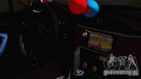Subaru BRZ для GTA San Andreas вид справа