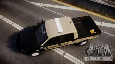 Ford F150 2010 Liberty County Sheriff [ELS] для GTA 4 вид справа