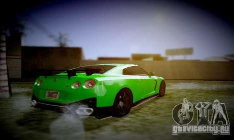 Blacks Med ENB для GTA San Andreas четвёртый скриншот