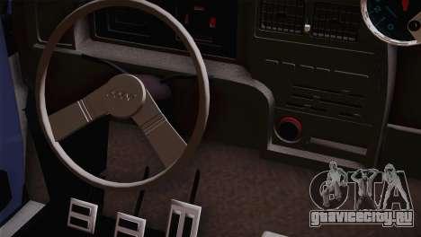 Fiat 147 Tuning для GTA San Andreas вид справа
