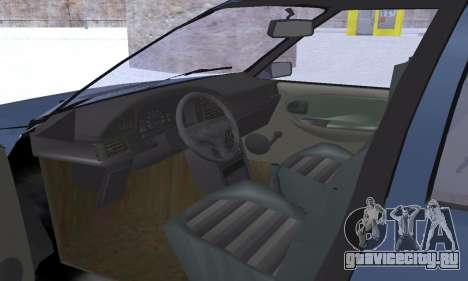 Dacia Super Nova для GTA San Andreas салон