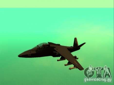 McDonnell Douglas AV-8B Harrier II Beta для GTA San Andreas вид слева
