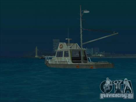 Reefer из GTA 3 для GTA San Andreas вид сзади слева