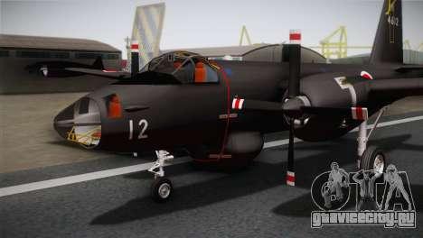 P2V-7 Lockheed Neptune RCAF для GTA San Andreas вид сзади