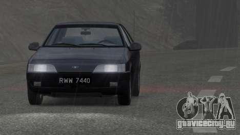 Daewoo Espero 2.0 CD 1996 для GTA 4 вид справа