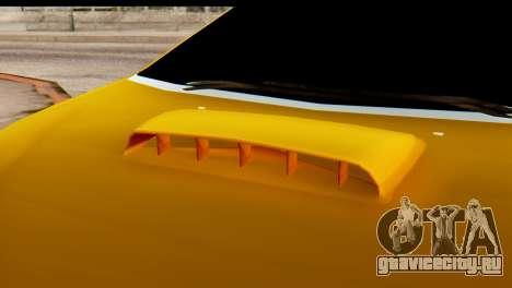 Peugeot 407 Sport Taxi для GTA San Andreas вид сзади