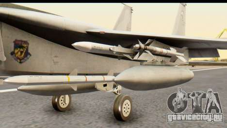 F-15DJ Mitsubishi Heavy Industries для GTA San Andreas вид справа