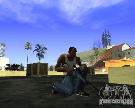 Skins Weapon pack CS:GO для GTA San Andreas второй скриншот