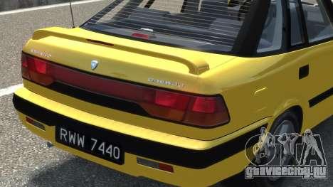 Daewoo Espero 2.0 CD 1996 для GTA 4 вид сверху