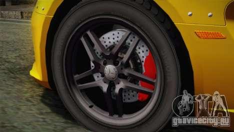 Mercedes-Benz SLR McLaren Stirling Moss для GTA San Andreas вид сзади слева