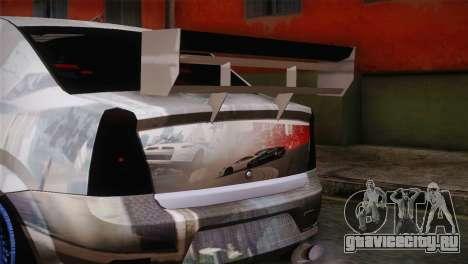 Dacia Logan Most Wanted Edition v1 для GTA San Andreas вид справа